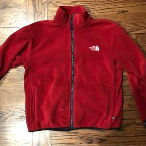 Women north face fleece